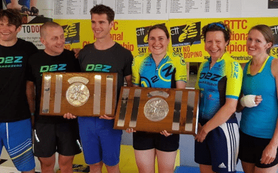What a weekend for the team – dualthlon, triathlon and National 100 time trial championships