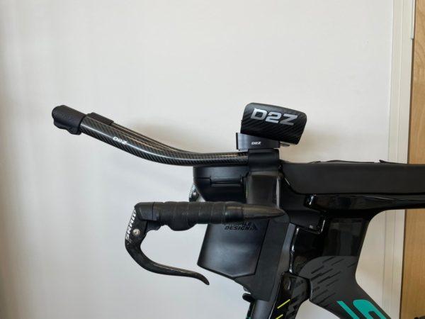 Long armrest shim (14deg) full cockpit side view